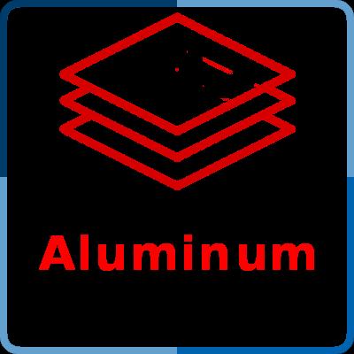 Coating thickness gauge - measurement of aluminum
